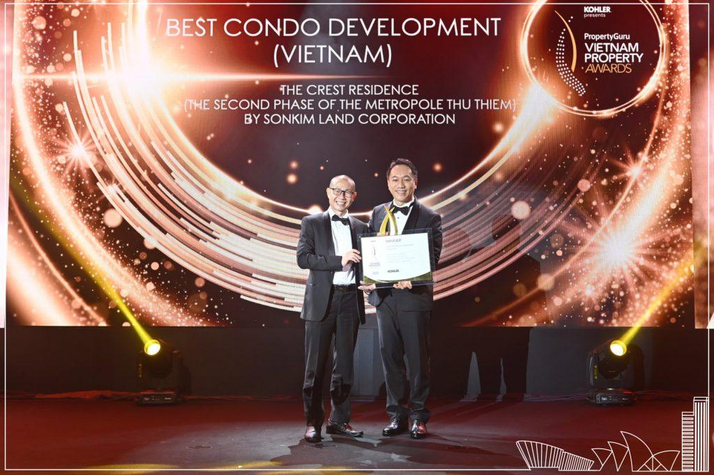 SonKim Land nhiều năm liền giành các giải thưởng quan trọng trong khuôn khổ Vietnam Property Awards
